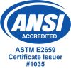 ANSI accredited Food Managers